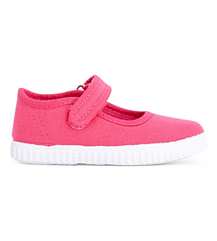 STEP2WO Greta canvas mary jane shoes 1-7 years (Fuchsia