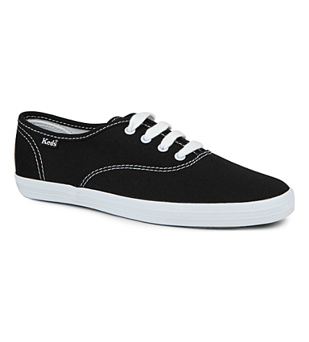KEDS Champion unisex trainers 6-11 years (Black