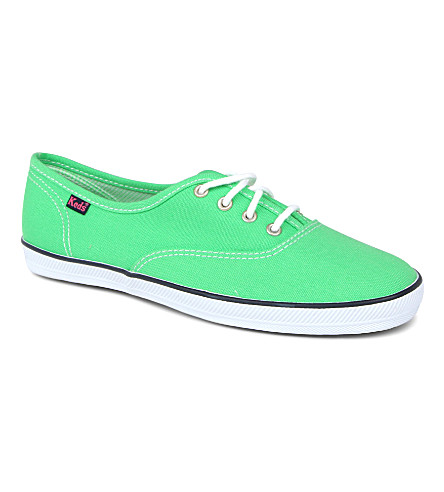KEDS Champion unisex trainers 6-11 years (Green