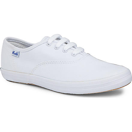 KEDS Champion unisex trainers 6-11 years (White
