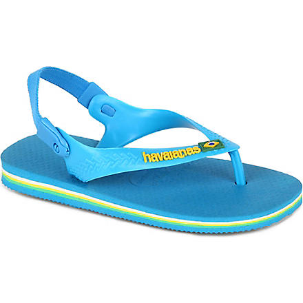 HAVAIANAS Unisex flip–flops 2-4 years (Blue
