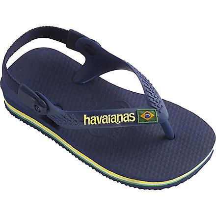 HAVAIANAS Unisex flip–flops 2-4 years (Navy