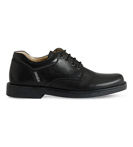 STEP2WO Richard leather lace-up shoes 6.5 - 12 years (Black+leather