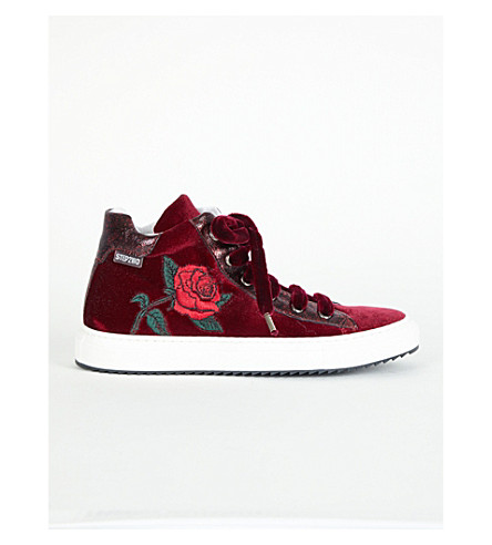 STEP2WO Louis Rose High Top Trainers 7-10 Years (Wine
