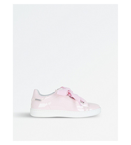 STEP2WO Dandy Bow-Detail Patent Leather Trainers 3-8 Years (Palpnkpat