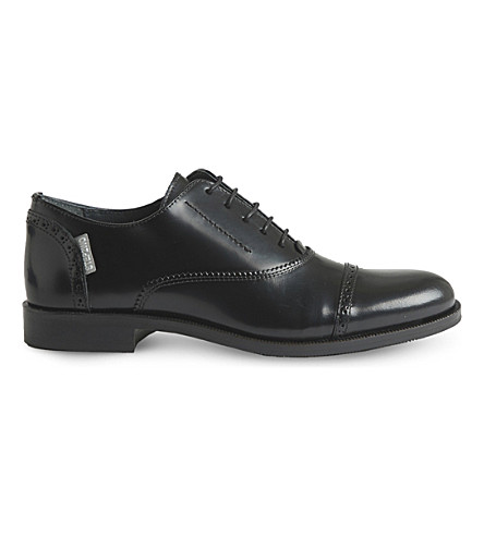 STEP2WO Jacob leather lace-up shoes 7 - 12 years (Black+leather