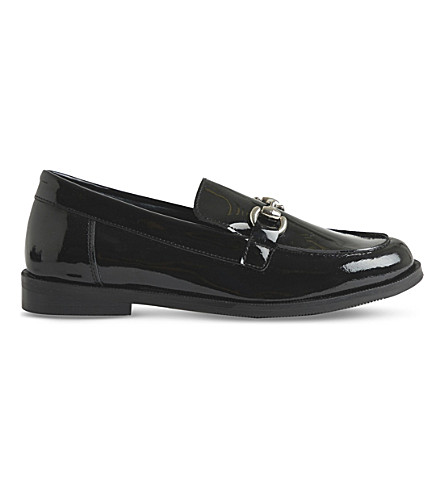 STEP2WO Noah patent-leather loafers 6.5-12 years (Black+patent