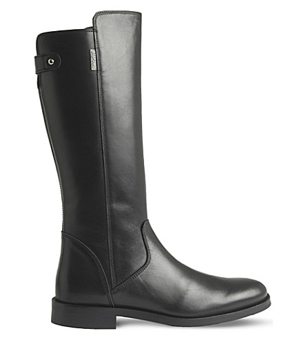 STEP2WO Captain leather boots 8-12 years (Black+leather