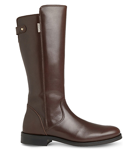 STEP2WO Captain leather boots 8-11 years (Brown+leather