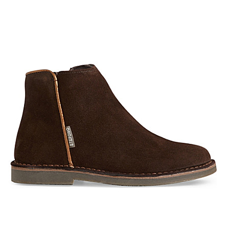 STEP2WO Tilly suede ankle boots 4-9 years (Brown+suede