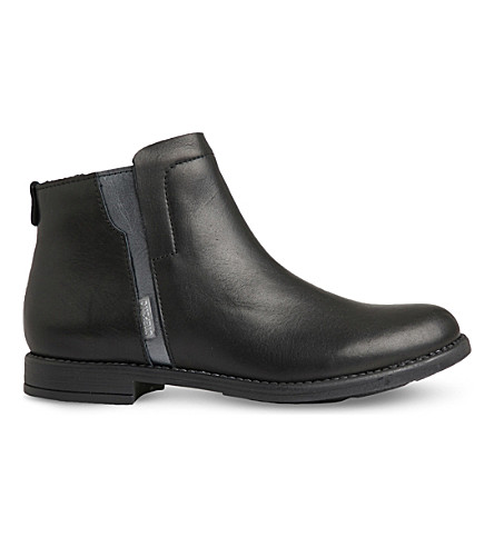 STEP2WO Carmela leather ankle boots 7-11 years (Black+leather