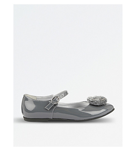 STEP2WO Rosie leather pumps (Grey+patent