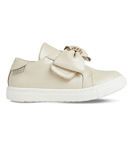 STEP2WO Sina leather trainers 2-5 years (Beige+leather