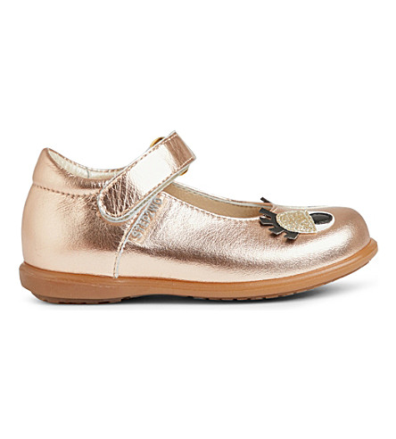 STEP2WO Babetta leather shoes 6 months - 5 years (Rose+gold
