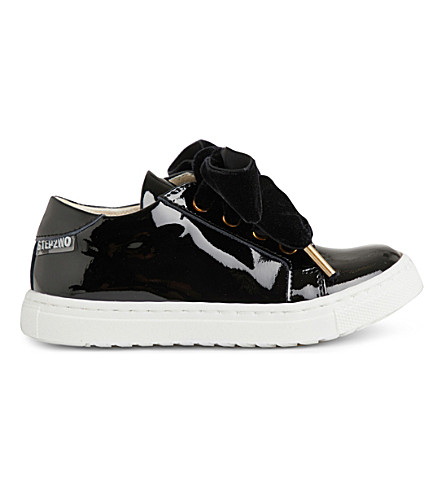 STEP2WO Royalty 2 patent-leather trainers 1-6 years (Black+patent