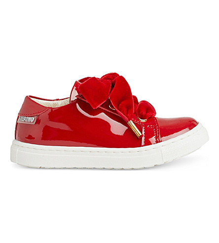 STEP2WO Royalty 2 patent-leather trainers 1-6 years (Red+patent
