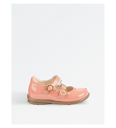 STEP2WO Bella patent buckle shoes 6 months - 7 years (Pink+patent