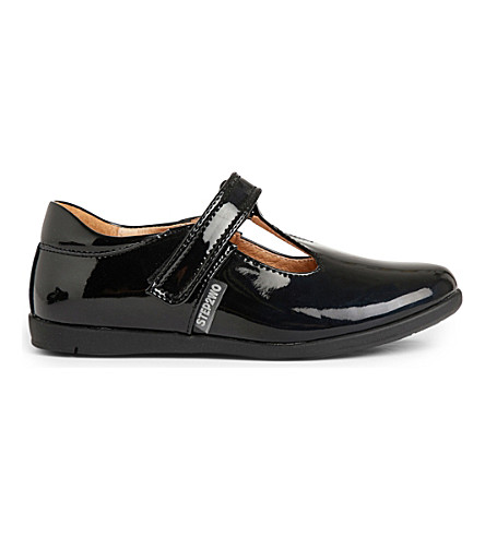 STEP2WO Harriet patent-leather shoes 3-8 years (Black+patent
