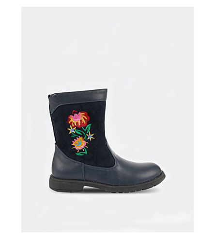 STEP2WO Step2wo girls boot bluebell (Navy+leather