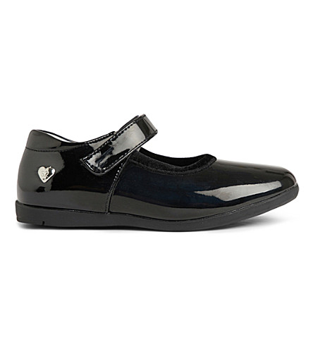 STEP2WO Cesna patent-leather shoes 5-7 years (Black+patent