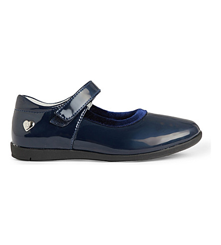 STEP2WO Cesna patent-leather shoes 5-7 years (Navy+patent