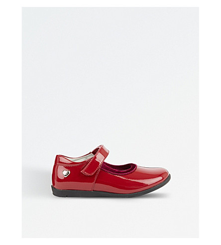 STEP2WO Cesna patent leather shoes 5-8 years (Red+patent