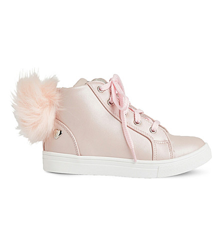 STEP2WO Carola leather high-top trainers 3-8 years (Pink+leather