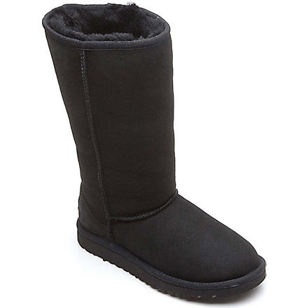 UGG Classic tall boots sizes UK 12 (kids)-UK 5 (adult) (Black