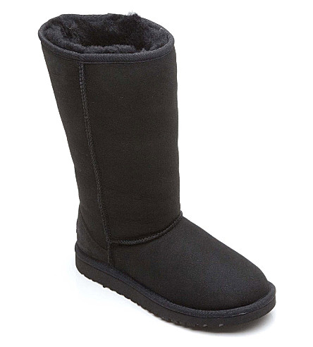 UGG Classic tall boots sizes UK 12 (kids)-UK 5 (adult) (Black