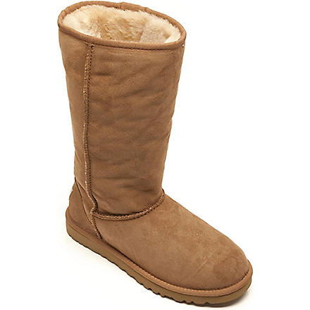 UGG Classic tall boots sizes UK 12 (kids)-UK 5 (adult) (Tan