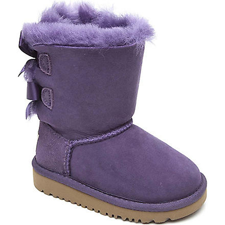 UGG Ribbon back boots (Lilac