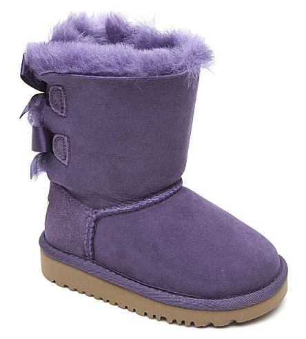 UGG Ribbon-back boots (Lilac