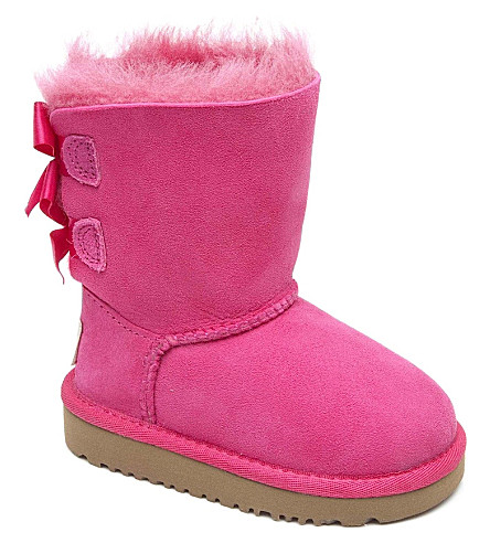 UGG Ribbon-back boots (Pink