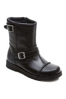 UGG Cowen leather boots 7-9 years