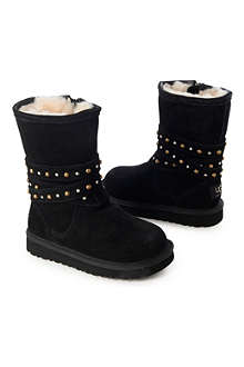 UGG Lovis studded boots sizes UK 9 (kids)-UK 3 (adult)