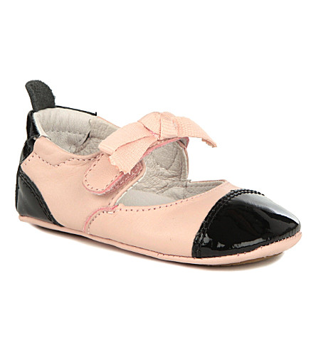OLD SOLES Two-tone ballet shoes 6 months-1 year (Pink