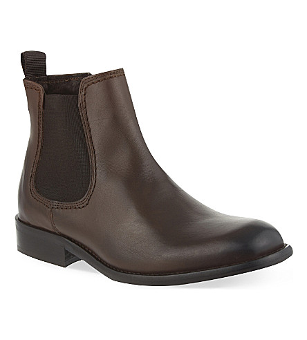 STEP2WO Apache leather boots 7-12 years (Brown+leather