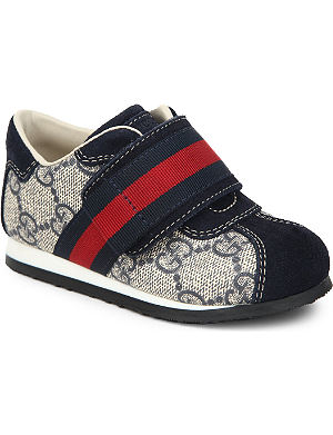 GUCCI Logo-detailed unisex trainers 1-4 years