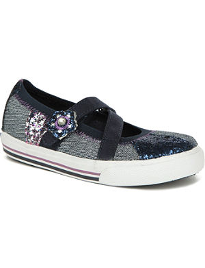 KEDS Sequinned pumps 3-6 years