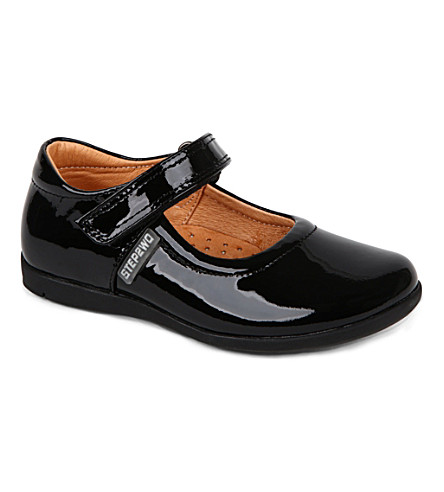STEP2WO Newlynn leather shoes 4-8 years (Black+patent