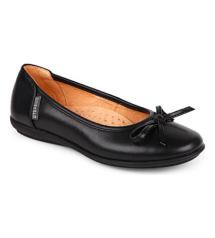 STEP2WO Cilla shoes 7-12 years (Black+leather