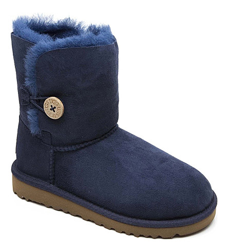 UGG Bailey button boots sizes UK 13 (kids)-UK 6 (adult) (Navy