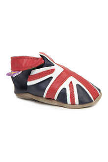 STARCHILD Union Jack pram shoes 6 months