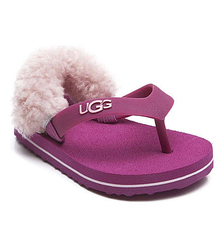 UGG Sheepskin sandals 3-9 years (Pink