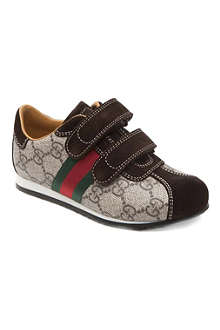 GUCCI Logo velcro trainers 6-8 years