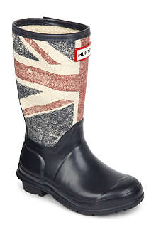 HUNTER Original kids brit wellington boots 4-11 years