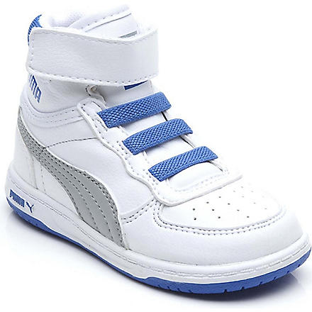 PUMA Velcro high-top trainers 2-5 years (Blue