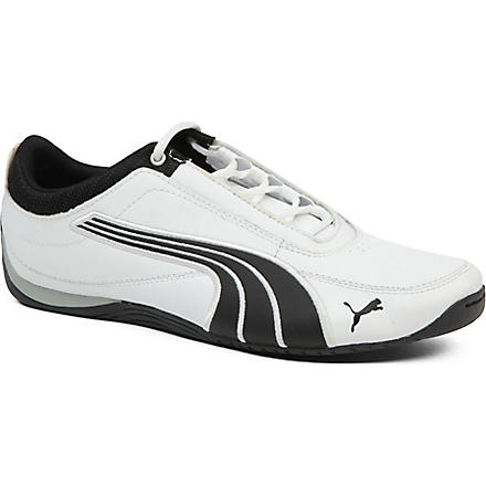 PUMA Motorsport Drift Cat 4 trainers 9-10 years (White