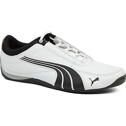 PUMA Motorsport Drift Cat 4 trainers 9-10 years (White