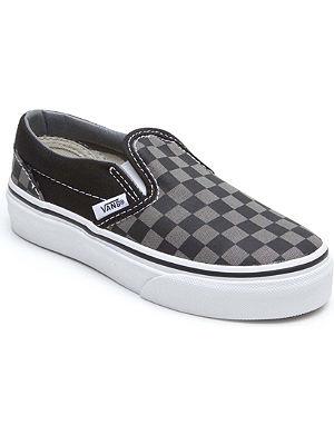 VANS Checkerboard slip-on trainers 4-9 years